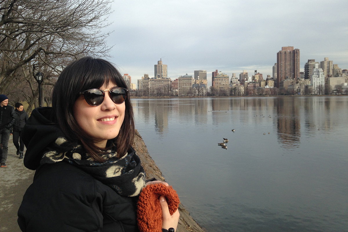 Visiting Student Researcher Grantee Duygu Tuntas in NYC