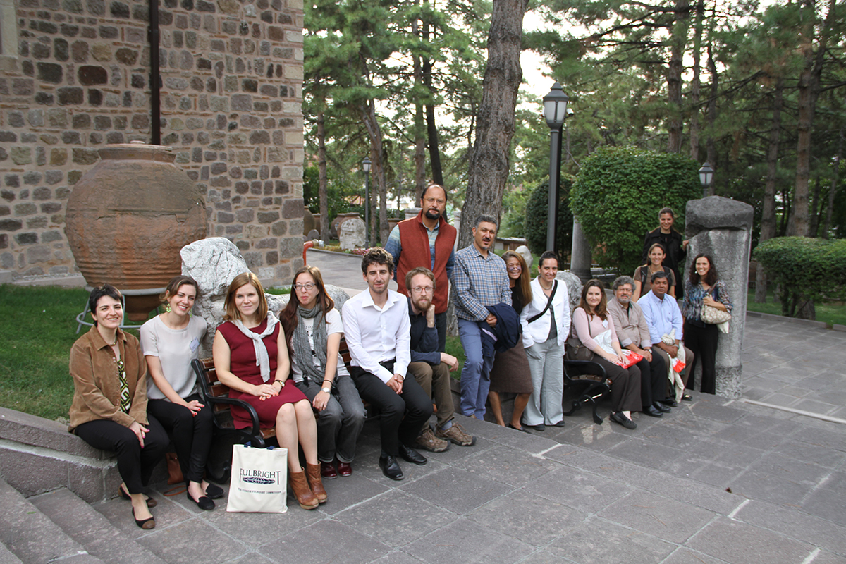 U.S. Scholar and U.S. Student Researcher Grantees at the Museum of Anatolian Civilizations in Ankara